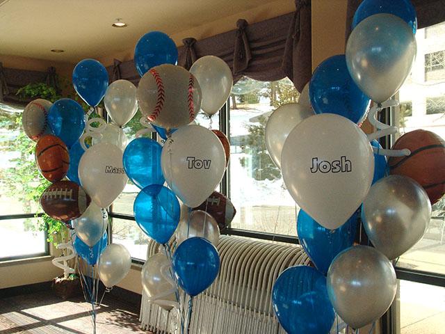 Bar Mitzvah Balloons Denver