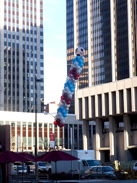 colorado rapids balloons downtown denver