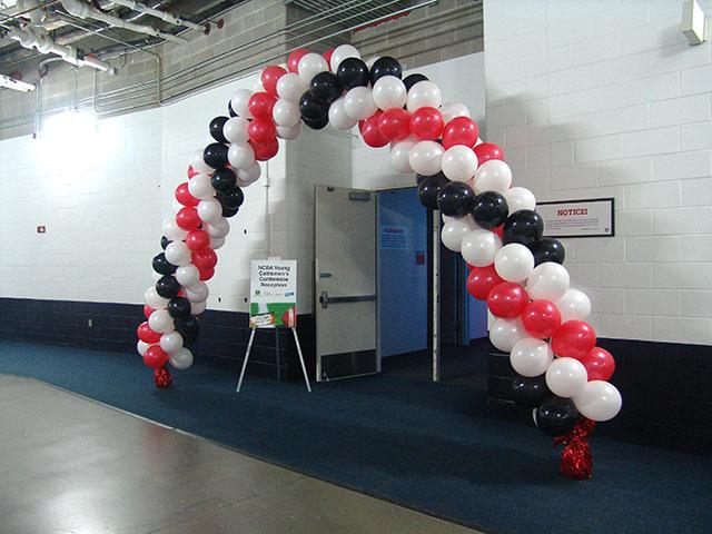 Invesco field balloon arch denver