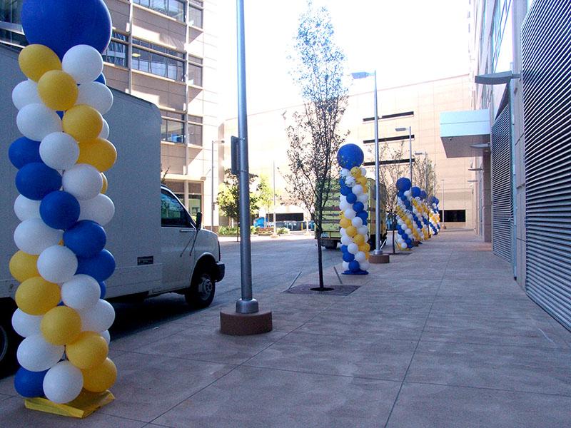 balloon columns downtown denver