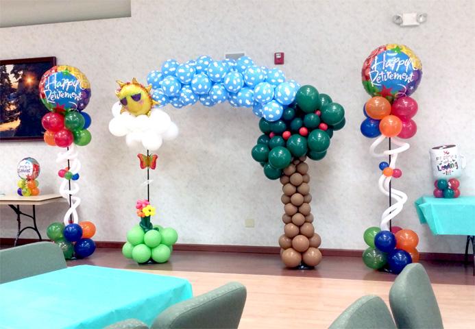 retirement balloons denver colorado